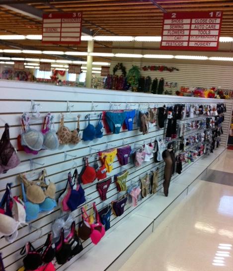 discount store underwear
