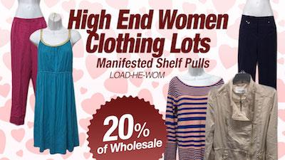 - Program   HE Department Store Shelf-Pull Women Clothing Lots