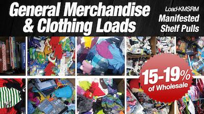 - Program   KM Department Store Shelf-Pull General Merchandise & Clothing Loads