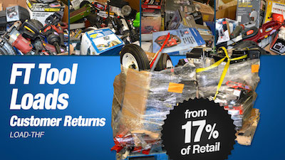 - Program   THF Department Store Tool Loads