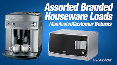 - Program   HE Assorted Branded Houseware Loads