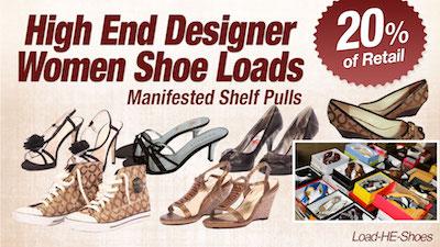 - Program   HE Department Store Shelf-Pull  Women's Branded Shoe Lots
