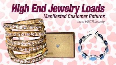 - Program   HE Assorted Branded Customer Return Jewelry Liquidation Lots