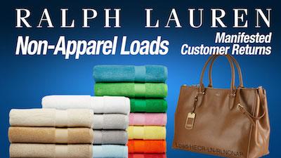 - Program   HE Ralph Lauren Non-Apparel Loads