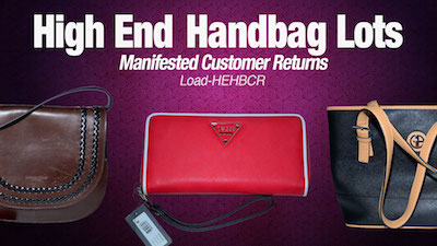 - Program   HE Department Store Return Branded & Designer HandBag Lots