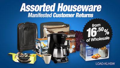 - Program   KL Department Store Return Houseware Loads