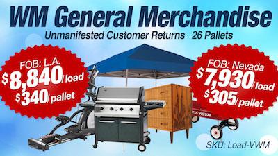 - Program   WM General Merchandise (Mostly Hardgoods) Loads