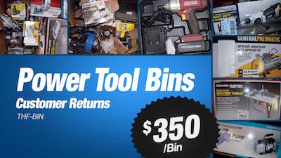 - THF Store Wholesale Power Tool Bins