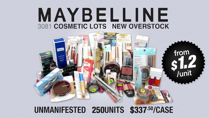 3081 - Maybelline Cosmetic Lots