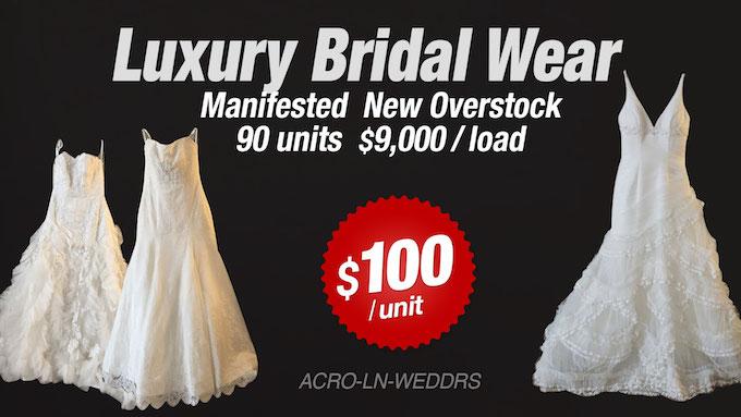 ACRO-LN-WEDDRS - Liquidation of Luxury Bridal Wear