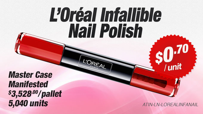 ATIN-LN-LOREALINFANAIL - L'Oréal Paris Infallible Nail Polish