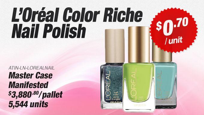 ATIN-LN-LOREALNAIL - L'Oréal Color Riche Nail Polish