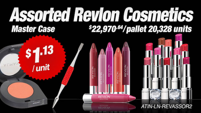 ATIN-LN-REVASSOR2 - Revlon Assorted Liquidation Lot (20,328 units)