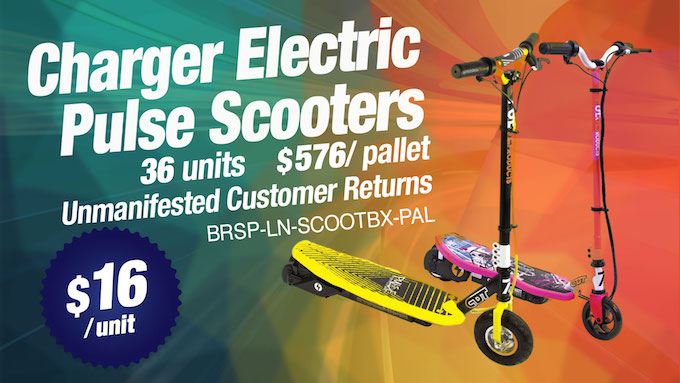 BRSP-LN-SCOOTBX-PAL - Charger Electric Pulse Scooters