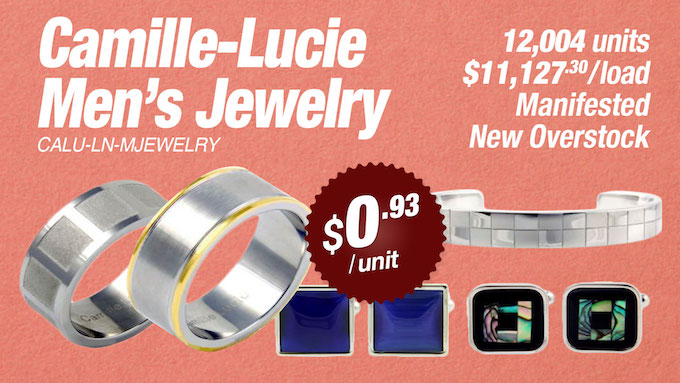 CALU-LN-MJEWELRY - Wholesale Camille-Lucie Men's Jewelry