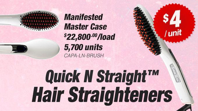 CAPA-LN-BRUSH - LiquidateNow   Liquidation of Quick N Straight™ Ceramic Hair Straighteners