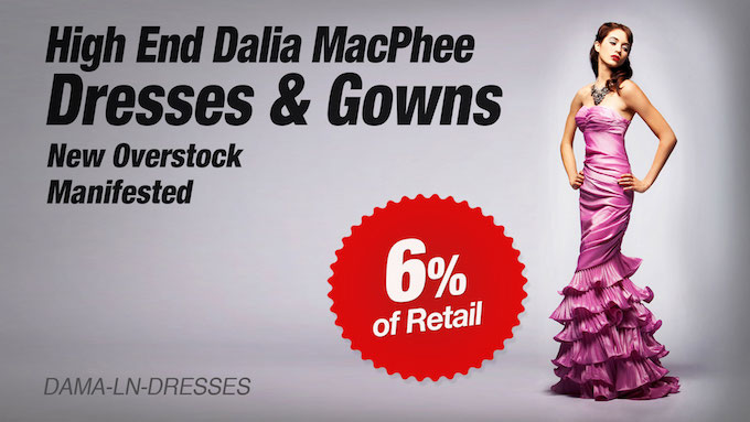 DAMA-LN-DRESSES - Liquidation of High End Dresses and Gowns