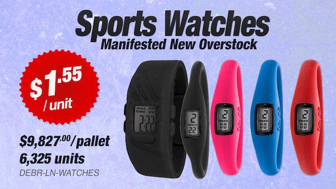 DEBR-LN-WATCHES - Liquidation of Sports Watches