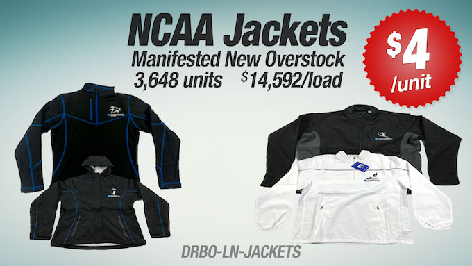 DRBO-LN-JACKETS - LiquidateNow   Liquidation of NCAA Jackets