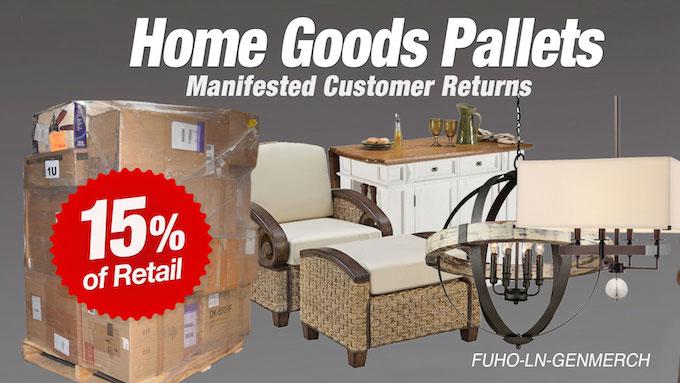 FUHO-LN-GENMERCH - Online Customer Return Home Goods Pallets