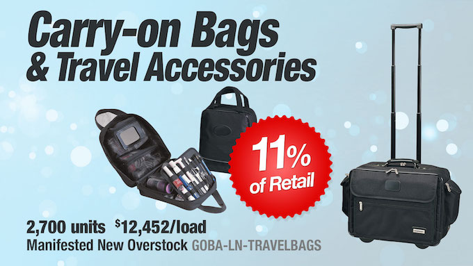 GOBA-LN-TRAVELBAGS - Wholesale Carry-on Bags and Travel Accessories