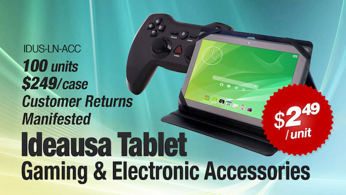 Wholesale iDeaUSA Tablet, Gaming & Electronic Accessories
