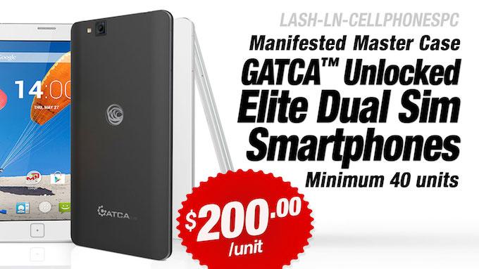 LASH-LN-CELLPHONESPC - GATCA Elite Unlocked Dual Sim Smartphones