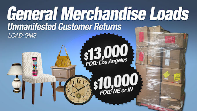 LOAD-GMS - General Merchandise Loads