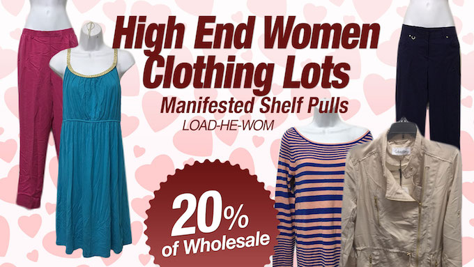 LOAD-HE-WOM - Assorted High-End Women Clothing Lots