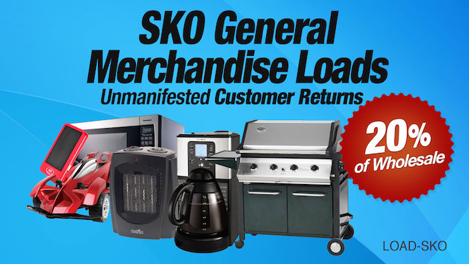 LOAD-SKO - SKO General Merchandise Loads