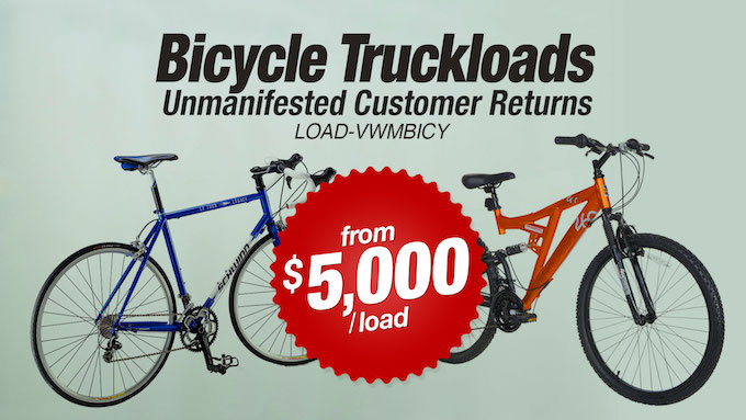 LOAD-VWMBICY - Bicycle Truckloads