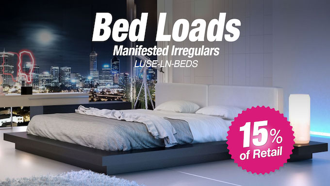 LUSE-LN-BEDS - New Overstock Bed Load