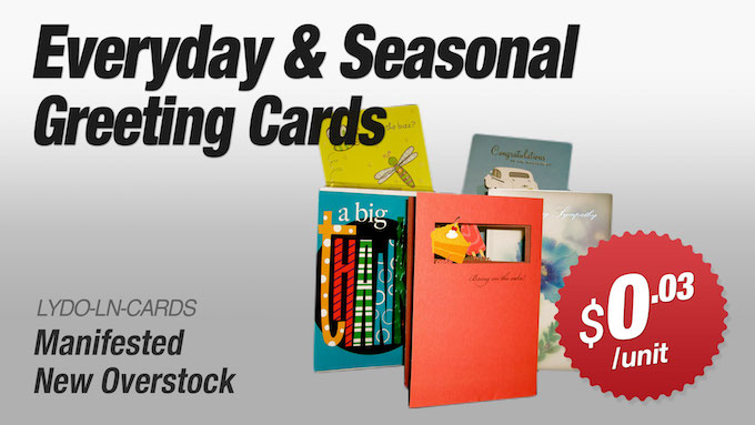 LYDO-LN-CARDS - Everyday and Seasonal Greeting Cards