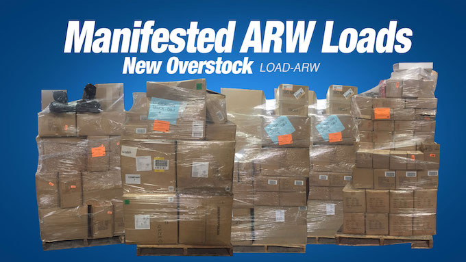 Load-ARW - Various New Overstock Loads