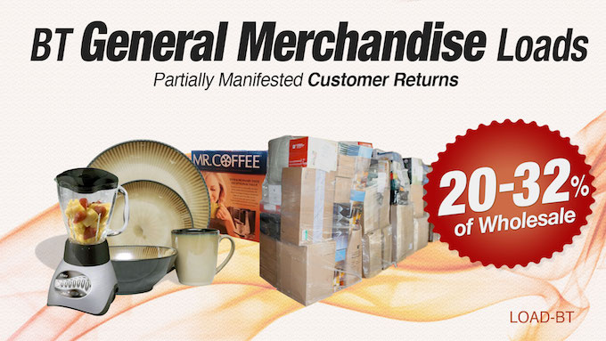 Load-BT - BT General Merchandise Loads