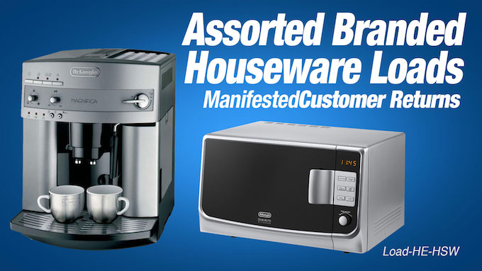 Load-HE-HSW - Assorted Branded Houseware Loads
