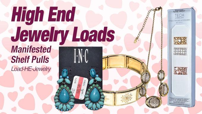 Load-HE-Jewelry - Program   HE Department Store Shelf-Pull Branded & Designer Jewelry Lots