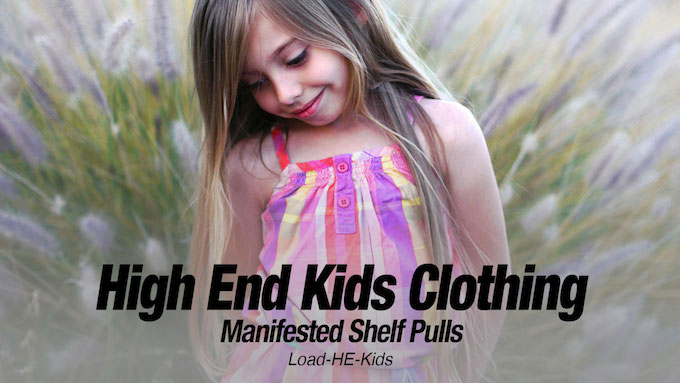 - High End Kids Clothing Loads