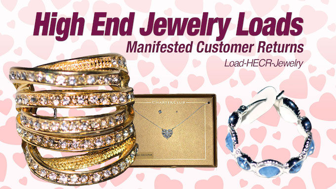 Load-HECR-Jewelry - Assorted Branded Customer Return Jewelry Liquidation Lots