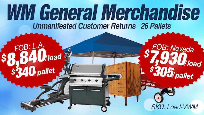 Load-VWM - WM General Merchandise Loads