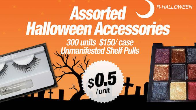R-HALLOWEEN - Assorted Halloween Accessories