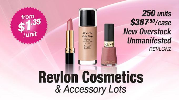 REVLON2 - Revlon Cosmetic & Accessory Lots