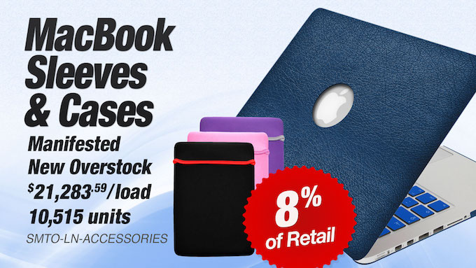 SMTO-LN-ACCESSORIES - Wholesale MacBook Sleeves and Cases