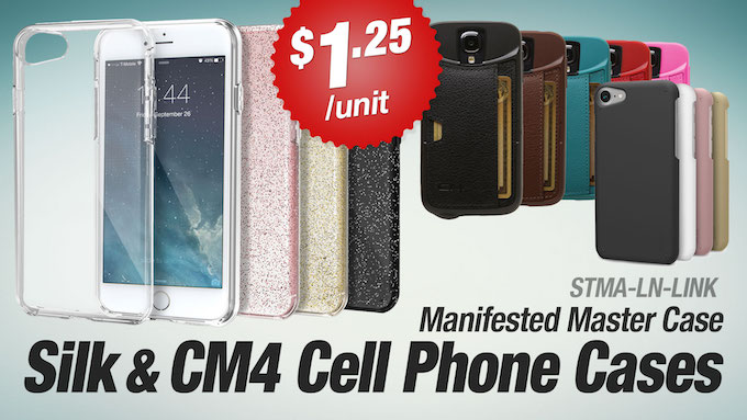 STMA-LN-SILK - Assorted Silk and CM4 Cell Phone Cases