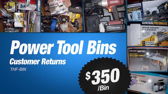 THF-BIN - THF Store Wholesale Power Tool Bins