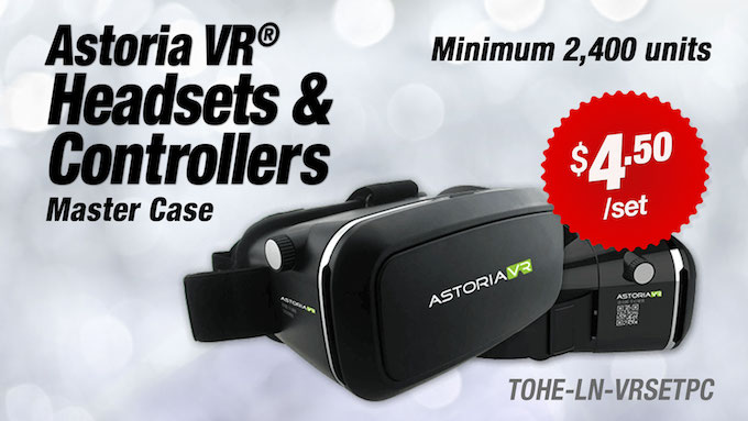 TOHE-LN-VRSETPC - Astoria VR® Headsets and Controllers