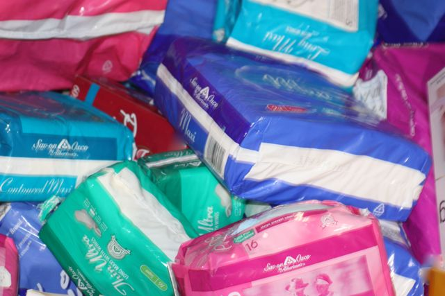 The current tax rate for feminine hygiene products are staying steady at 5% ...