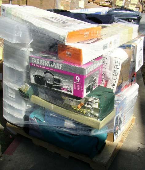 Wholesale General Merchandise Loads