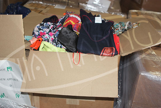 Assorted VM Apparel Loads