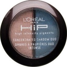 L'Oreal HIP Concentrated Shadow Duo